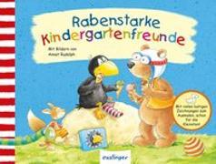 Cover-Bild zu Rudolph, Annet (Illustr.): Der kleine Rabe Socke: Rabenstarke Kindergartenfreunde