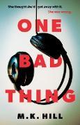 Cover-Bild zu One Bad Thing (eBook)