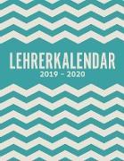 Cover-Bild zu Lehrerkalender 2019-2020 und Lehrerplaner 2019-2020 Schulplaner für die Unterrichtsvorbereitung für das neue Schuljahr - Kalender, Planer, Timer und Organizer - Ein Planer ideal als Lehrer-Geschenk von Meier, Laura