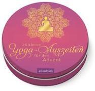 Cover-Bild zu 24 kleine Yoga-Auszeiten für den Advent