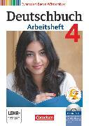 Cover-Bild zu Deutschbuch Gymnasium, Baden-Württemberg - Ausgabe 2012, Band 4: 8. Schuljahr, Arbeitsheft mit Lösungen und Übungs-CD-ROM von Fingerhut, Margret