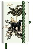 Cover-Bild zu GreenLine Diary Jungle 2022 - Buchkalender - Taschenkalender - 10x15