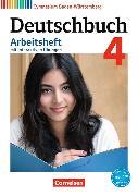 Cover-Bild zu Deutschbuch Gymnasium 4. 8. Schuljahr. Bildungsplan 2016. Arbeitsheft mit interaktiven Übungen auf scook.de. BW von Bordelais, Nicole