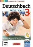 Cover-Bild zu Deutschbuch Gymnasium 3. 7. Schuljahr. Neubearbeitung. Arbeitsheft mit Lösungen und CD-ROM. BW von Fingerhut, Armin