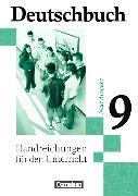 Cover-Bild zu Deutschbuch 9. Schuljahr. Neue Ausgabe. Handreichungen für den Unterricht von Brenner, Gerd
