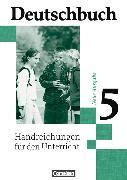 Cover-Bild zu Deutschbuch 5. Handreichungen für den Unterricht von Brenner, Gerd