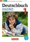 Cover-Bild zu Deutschbuch Gymnasium 1. 5. Schuljahr. Arbeitsheft mit Lösungen und interaktiven Übungen. BW von Diehm, Jan