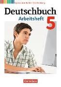 Cover-Bild zu Deutschbuch Gymnasium 5. 9. Schuljahr. Neubearbeitung. Arbeitsheft mit Lösungen. BW von Fischer, Christoph