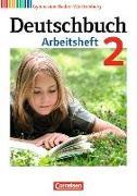 Cover-Bild zu Deutschbuch Gymnasium 2 6. Schuljahr. Neubearbeitung. Arbeitsheft mit Lösungen. BW von Fingerhut, Armin