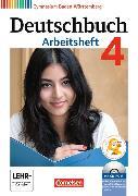 Cover-Bild zu Deutschbuch Gymnasium 4. Arbeitsheft mit Lösungen und CD-ROM. BW von Fingerhut, Margret