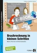 Cover-Bild zu Bruchrechnung in kleinen Schritten 4 (eBook) von Becker, Kathrin