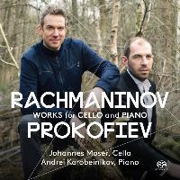 Cover-Bild zu Rachmaninow/Prokofjew: Works for Cello & Piano