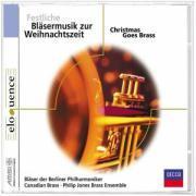 Cover-Bild zu Festliche Bläsermusik zur Weihnachtszeit. Klassik-CD
