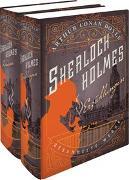 Cover-Bild zu Doyle, Arthur Conan: Sherlock Holmes - Gesammelte Werke in zwei Bänden