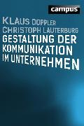 Cover-Bild zu Doppler, Klaus: Gestaltung der Kommunikation im Unternehmen (eBook)