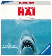 Cover-Bild zu Ravensburger 26799 - Der weisse Hai - Spannendes Strategiespiel für Erwachsene und Kinder ab 12 Jahren, Spiel zum berühmten Filmklassiker für 2-4 Spieler