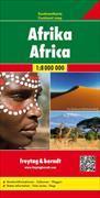 Cover-Bild zu Afrika, Kontinentkarte 1:8 Mio. 1:9'000'000