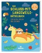 Cover-Bild zu Golding, Elizabeth: Das Schluss-mit-Langeweile-Rätselbuch