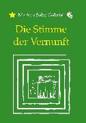 Cover-Bild zu Gabriel, Markus Sabo: Die Stimme der Vernunft (eBook)