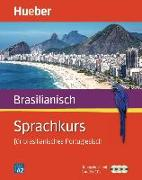 Cover-Bild zu Sprachkurs für brasilianisches Portugiesisch. Buch + 3 Audio-CDs