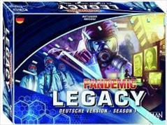 Cover-Bild zu Pandemic Legacy Season 1 Blau