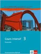 Cover-Bild zu Kunert, Dieter: Cours intensif 3. Passerelle. Grammatisches Beiheft