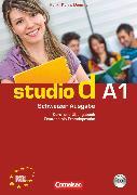 Cover-Bild zu Studio d, Deutsch als Fremdsprache, Schweiz, A1, Kurs- und Übungsbuch mit Lösungsbeileger und Lerner-Audio-CD, Hörtexte der Übungen und des Modelltests Start Deutsch 1
