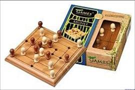 Cover-Bild zu Mini-Spiel - Mühle - Bambus