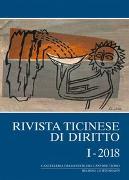 Cover-Bild zu Rivista ticinese di diritto I-2018