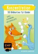 Cover-Bild zu Pichler, Sandra: Konzentration - 30 Bildkarten für Kinder im Kindergarten- und Vorschulalter