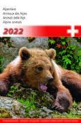 Cover-Bild zu Cal. Alpentiere 2022 Ft. 14,8x22