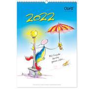 Cover-Bild zu Oups Wandkalender 2022