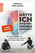 Cover-Bild zu Ilg, Joyce: Hätte ich das mal früher gewusst!