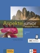Cover-Bild zu Koithan, Ute: Aspekte junior B2. Kursbuch mit Audio-Dateien zum Download
