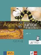 Cover-Bild zu Koithan, Ute: Aspekte junior C1. Mittelstufe Deutsch. Kursbuch mit Audios und Videos