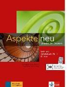 Cover-Bild zu Koithan, Ute: Aspekte neu B1 plus. Mittelstufe Deutsch. Lehr- und Arbeitsbuch mit Audio-CD, Teil 1