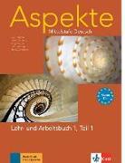 Cover-Bild zu Koithan, Ute: Aspekte 1 (B1+) in Teilbänden - Lehr- und Arbeitsbuch Teil 1 mit Audio-CD
