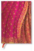 Cover-Bild zu Varanasi-Seiden und -Saris Gulabi Midi liniert