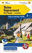 Cover-Bild zu Tessin Sopraceneri Nr. 26 Wanderkarte 1:60 000. 1:60'000