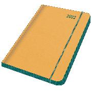 Cover-Bild zu EMERALD GREEN 2022 - Diary - Buchkalender - Taschenkalender - 12x17