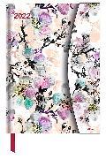 Cover-Bild zu Flower Fantasy 2022 - Diary - Buchkalender - Taschenkalender - 16x22