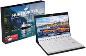 Cover-Bild zu Hurtigruten Tischkalender 2022