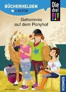 Cover-Bild zu Die drei !!!, Bücherhelden 2. Klasse, Geheimnis auf dem Ponyhof