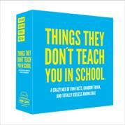 Cover-Bild zu Things they don´t teach you in school
