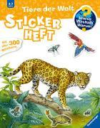 Cover-Bild zu Simon, Ute (Illustr.): Wieso? Weshalb? Warum? Stickerheft: Tiere der Welt