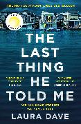 Cover-Bild zu The Last Thing He Told Me