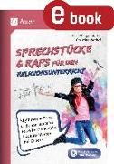 Cover-Bild zu Sprechstücke & Raps für den Religionsunterricht (eBook) von Meggendorfer, Silke