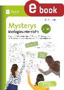 Cover-Bild zu Mysterys Biologieunterricht 5-10 (eBook) von Rüter, Martina