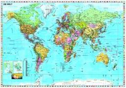 Cover-Bild zu Weltkarte deutsch. 1:33'000'000