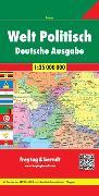 Cover-Bild zu Welt Politisch, Weltkarte 1:35.000.000, Deutsche Ausgabe. 1:35'000'000